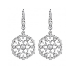 Penny Preville Diamond Earrings from Lee Michaels