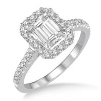 Lee Michaels Emerald Cut Diamond